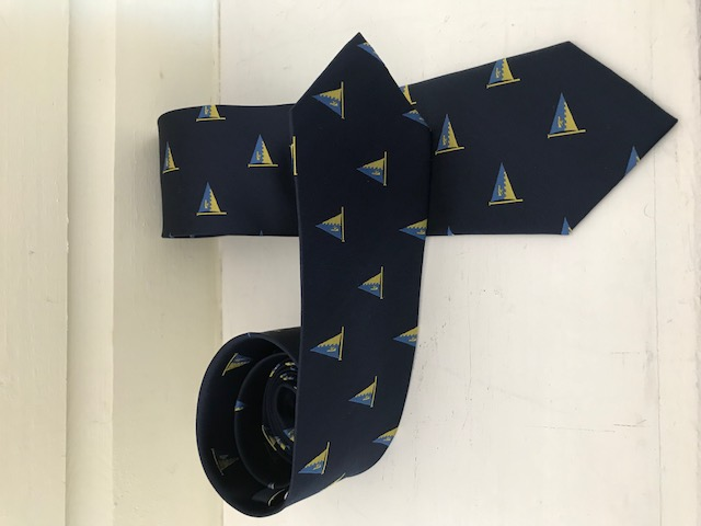 Ties are in stock!