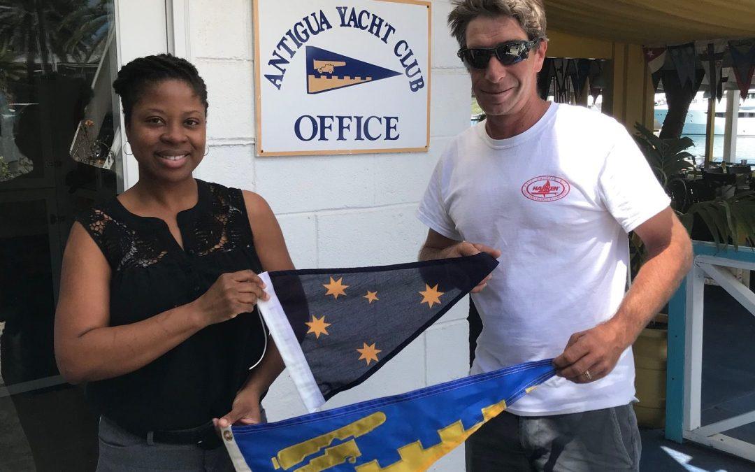 Burgee Exchange with Cruising Yacht Club Australia