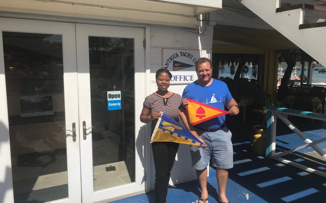 Burgee Exchange with Mission Bay Yacht Club