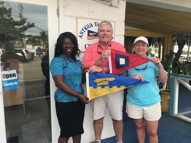 Burgee Exchange with Pettipaug Yacht Club USA