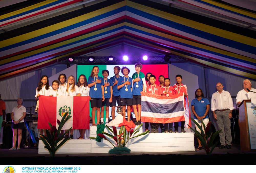 Prize-giving ceremony brings 2019 Optimist World Championship to a close