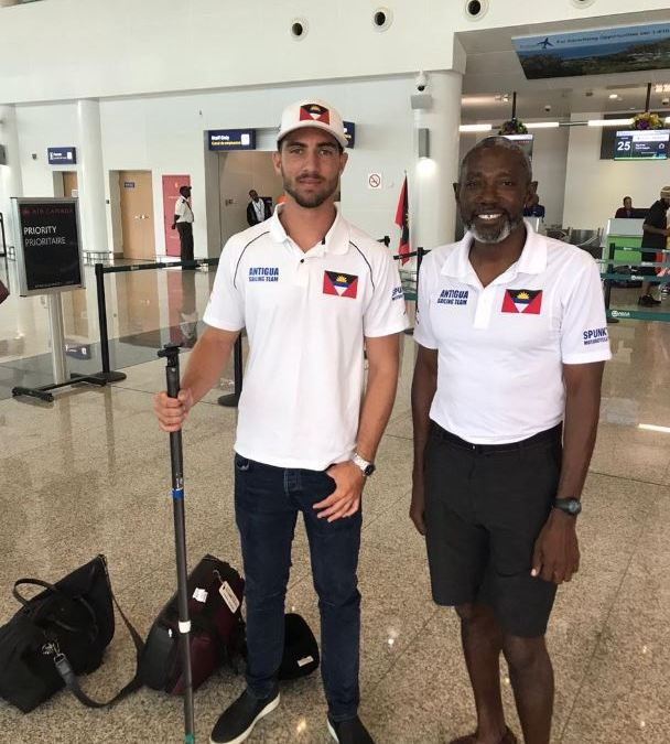 Daniel Smith and Coach Karl James are off to Hampel World Cup Series 2020 in Miami