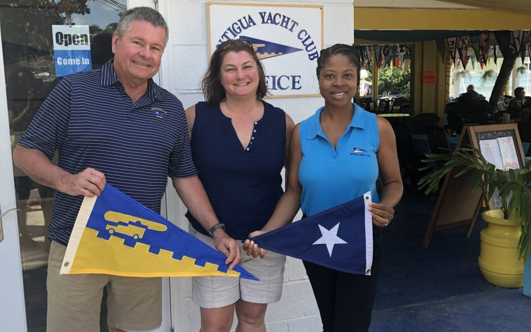 Burgee Exchange with Buffalo Yacht Club