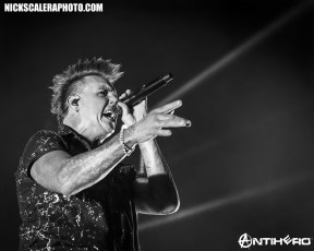 Papa Roach performs at the Wind Creek Event Center in Bethlehem, PA on August 13, 2019.