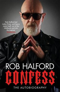 Rob Halford - Confess book cover