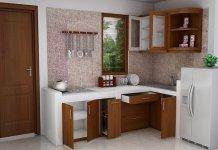 bahan kitchen set murah