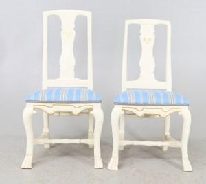 Herr och fru stol Publicerad med tillstånd av Kalmar auktionsverk