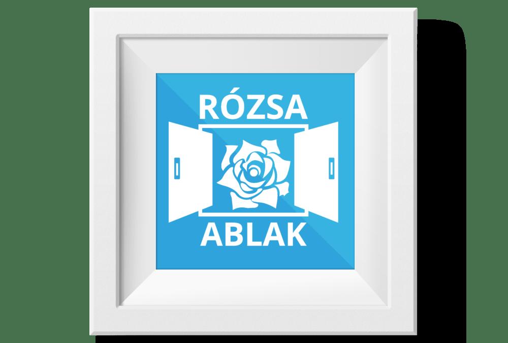 Rózsa Ablak logó