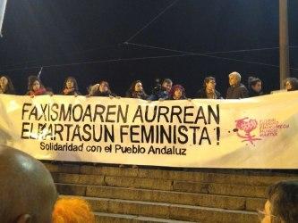 Faxismoaren Aurrean, Saretxe Feminista!!