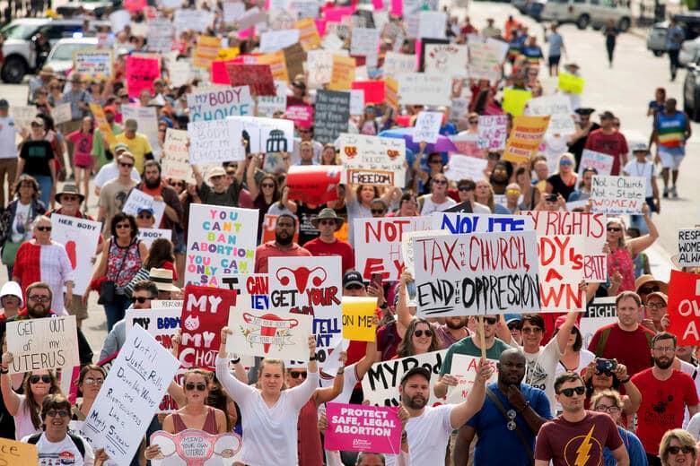 Resistencia a la ley antiaborto de Texas