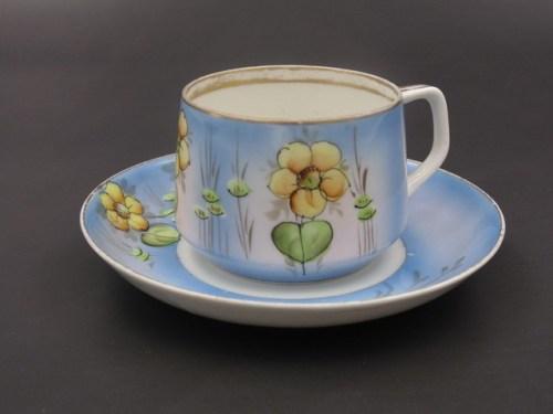 Чайная пара Гарднер до 1917 годаЧайная пара Гарднер до 1917 года