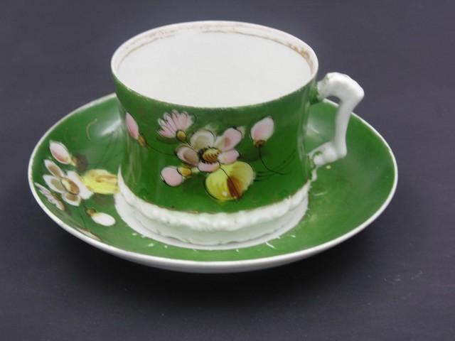 Чайная пара Кузнецов Волхов до 1917 года
