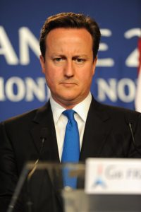 British Prime Minister, David Cameron, has announced his intention to resign
