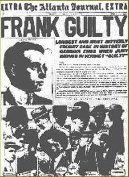 The Atlanta Journal EXTRA - Leo Frank was tried