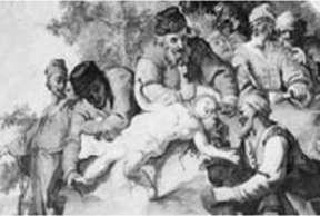 Judenstein - or, 'Jew stone'