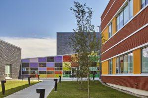 Roosevelt Elementary School, Bridgeport CT, Educational Architecture, Antinozzi Associates