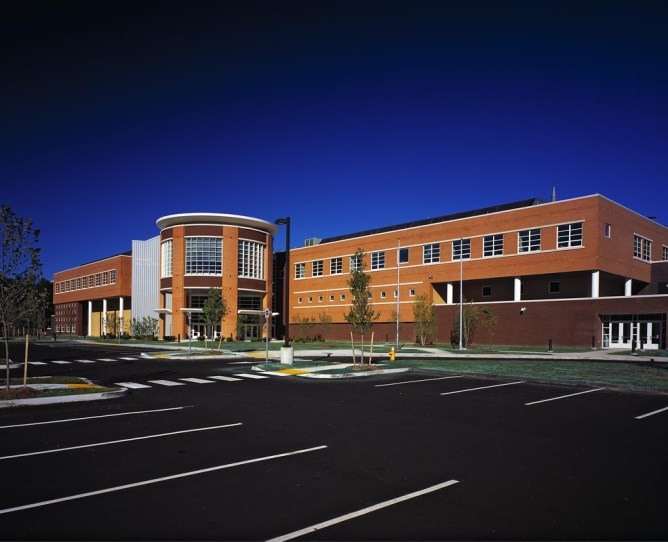 Antinozzi Associates, Education Architecture, Oxford High School, Oxford Connecticut