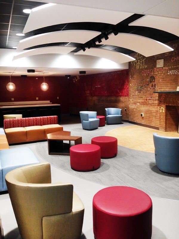 University of Bridgeport – Cox Student Center, Antinozzi Associates