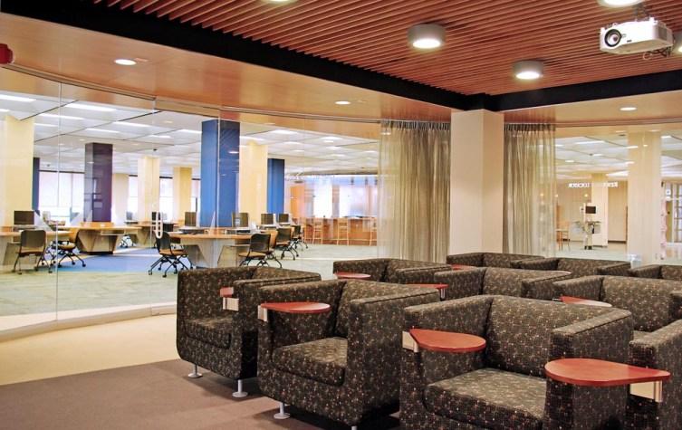 University of Bridgeport – Wahlstrom Library, Bridgeport Connecticut, Antinozzi Associates