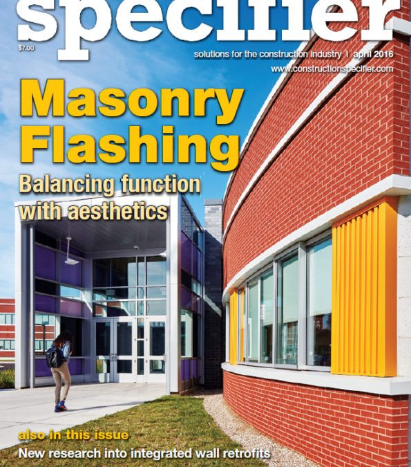 Construction Specifier – April 2016 Issue!