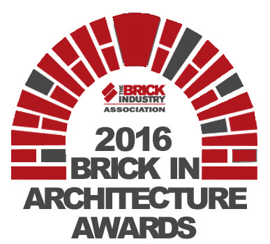 Gold Winner in the 2016 Brick in Architecture Awards!