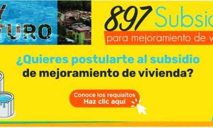 Medellín entregará 13.000 millones para mejoramiento de vivienda