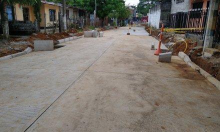 Mejoramiento de vías en Cáceres