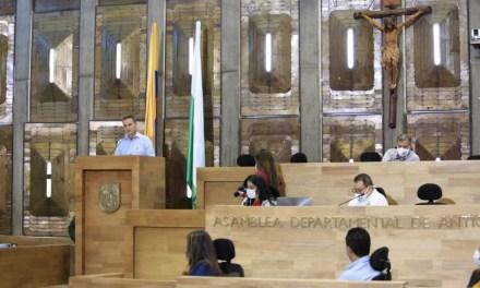 Se aprueba en Antioquia el Plan de Desarrollo Unidos por la Vida