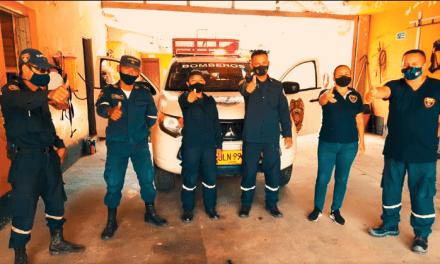 Bomberos de Puerto Berrío estrenan vehículo