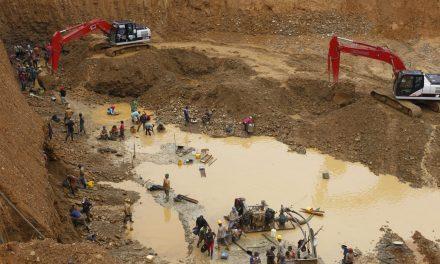 Tierras degradas en El Bagre por minería