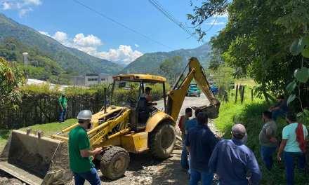 Mejoramiento de vías terciarias de Amagá