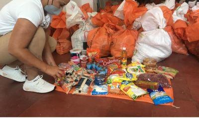 La alcaldía de Hispania entrega kits alimentarios