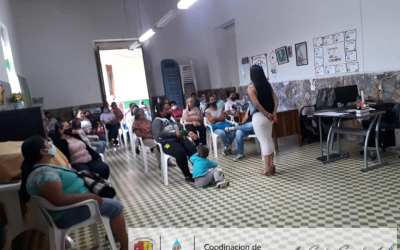Formación y discusión con los jóvenes de San Andrés de Cuerquia