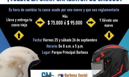 Barbosa inicia la semana de la seguridad vial