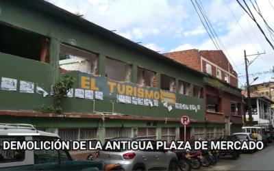 Yolombó demuele antigua Plaza de Mercado