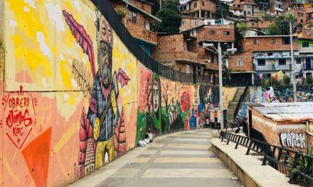 Modificación en el grafitour de la comuna 13