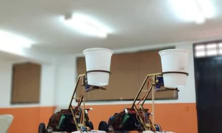 Estudiantes de La Estrella ganan concurso de robótica
