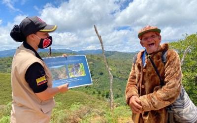 Capacitaciones por riesgo de minas en San Luis
