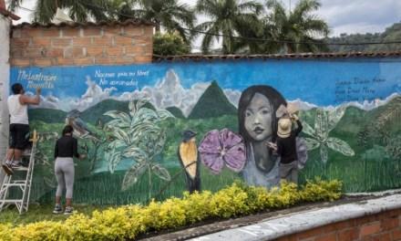 Venecia tiene mural para honrar a sus tres víctimas