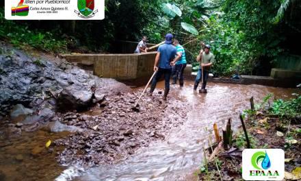 Comenzó la limpieza de fuentes hídricas en Pueblorrico