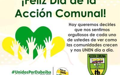 Dabeiba celebra el día de la Acción Comunal