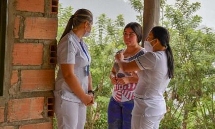 Brigadas de salud en las veredas de Andes