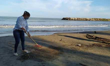 Inició proyecto de playas limpias en Arboletes