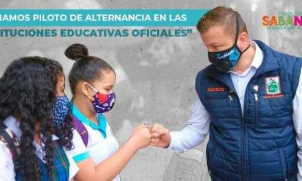 Sabaneta inicia plan de alternancia educativa