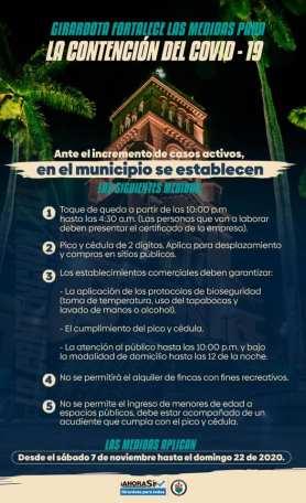 Nuevas medidas de restricción en Girardota