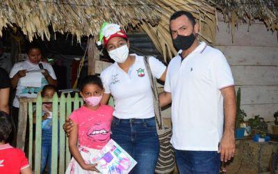 La alcaldía de San Pedro de Urabá regala sonrisas a los niños