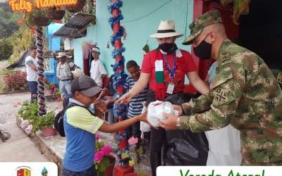 San Andrés de Cuerquia finaliza el año entregando sonrisas en los niños del municipio
