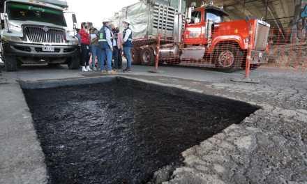 Inicia mantenimiento de la vía Regional Sur