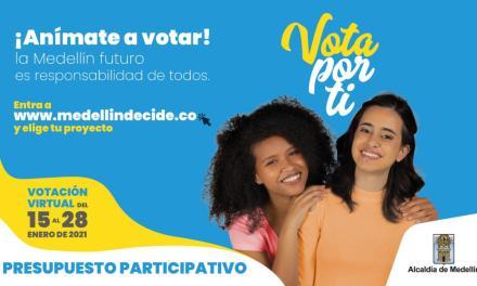 Votaciones de Presupuesto Participativo en Medellín