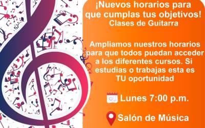 Yalí abre convocatoria para la Escuela de Música